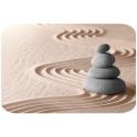 Badmat - Stenen op Zand