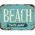 Badmat 60x40 cm. - Retro Beach