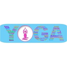 Yogamat 180x50 cm. - Asana