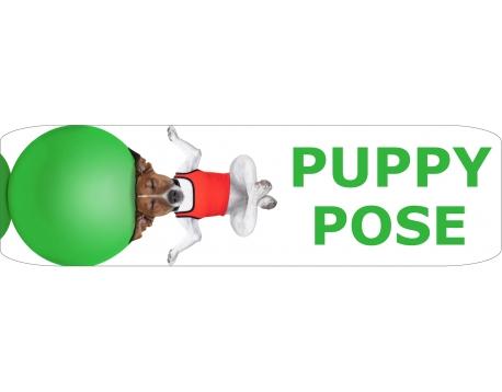 Yogamat 180x50 cm. - Puppy Pose