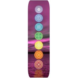 Yogamat 180x50 cm. - 7 Chakras