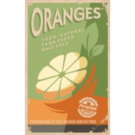 Afdruipmat 50x40 cm. - Retro Oranges